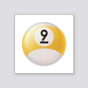 Billiard Pool Ball Sticker