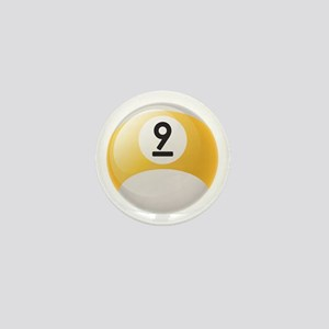 Billiard Pool Ball Mini Button