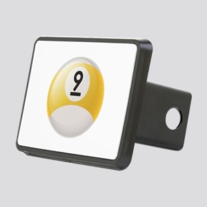 Billiard Pool Ball Rectangular Hitch Cover