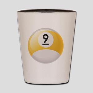 Billiard Pool Ball Shot Glass