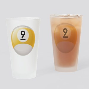 Billiard Pool Ball Drinking Glass