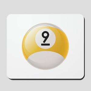 Billiard Pool Ball Mousepad