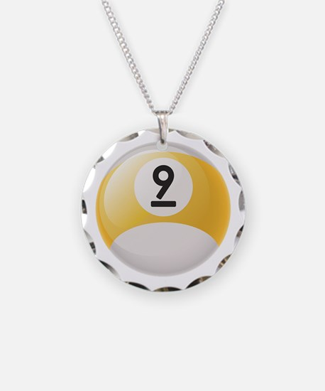 Billiard Pool Ball Necklace