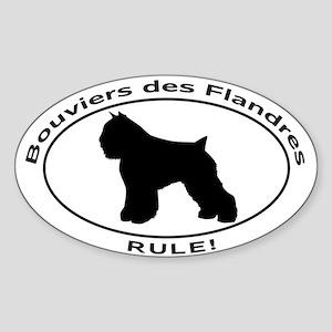 BOUVIER DES FLANDRES Sticker