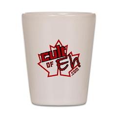 Cult of Eh Logo Shot Glass