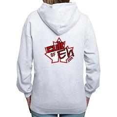Cult Of Eh Logo Zipped Hoody Women's Zip Hoodi