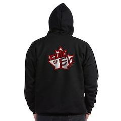 Cult Of Eh Logo Zipped Zip Hoodie (dark)