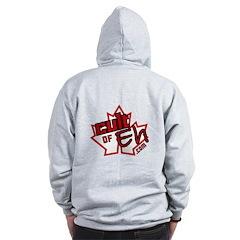 Cult Of Eh Logo Zipped Hoody Zip Hoodie