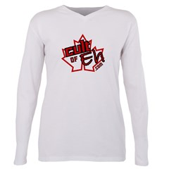 Cult Of Eh Logo Plus Size Long Sleeve Tee
