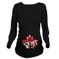 Cult Of Eh Logo Long Sleeve Maternity T-Shirt