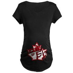 Cult Of Eh Logo Maternity T-Shirt