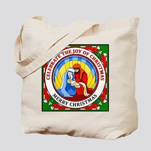 Christmas Joy Merry Christmas Tote Bag