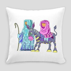 Christmas Donkey Everyday Pillow