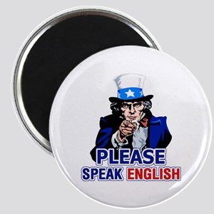 Please Speak English Magnet