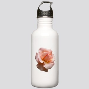 Peach Wild Rose Stainless Water Bottle 1.0L