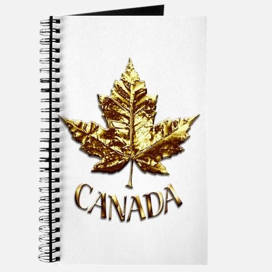 Gold Canada Souvenir Journal