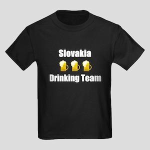 Slovakia Kids Dark T-Shirt