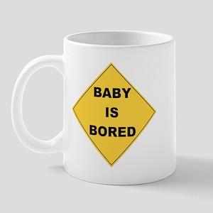 Baby Is Bored Mug