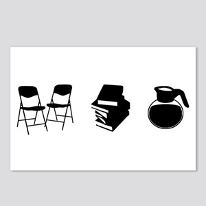 Makes A Meeting (chairs, Postcards (package Of 8)