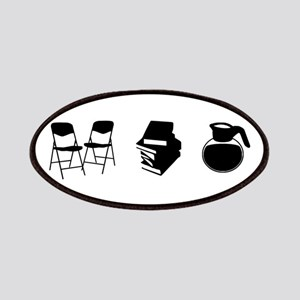 Makes a Meeting (Chairs, Literature, and Coffee) P
