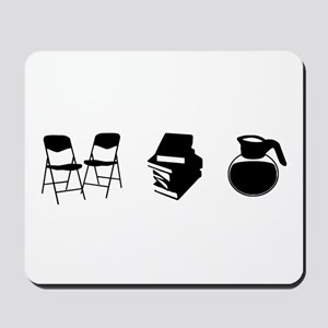 Makes a Meeting (Chairs, Literature, and Coffee) M
