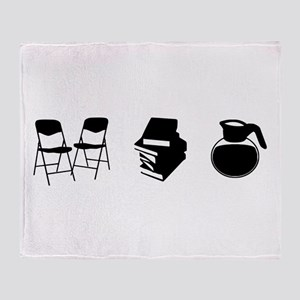 Makes a Meeting (Chairs, Literature, and Coffee) T