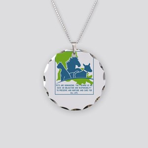 Pets are humanizing. They re Necklace Circle Charm