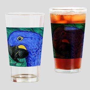 Hyacinth Macaw Drinking Glass