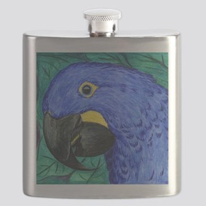 Hyacinth Macaw Flask
