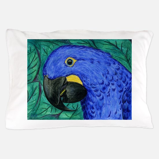 Hyacinth Macaw Pillow Case