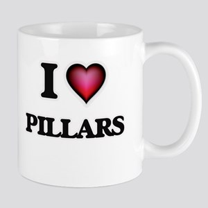 I Love Pillars Mugs