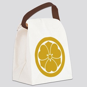 Wood sorrel with swords in circle Canvas Lunch Bag