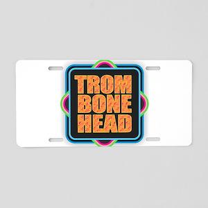 Trombonehead Aluminum License Plate