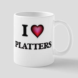 I Love Platters Mugs