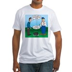 Dutch Oven Cooking Fitted T-Shirt