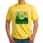 Dutch Oven Cooking Yellow T-Shirt