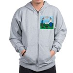 Dutch Oven Cooking Zip Hoodie