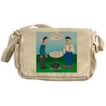 Dutch Oven Cooking Messenger Bag