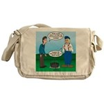 Dutch Oven Cooking Messenger Bag