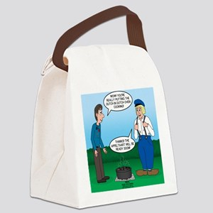 Dutch Oven Cooking Canvas Lunch Bag