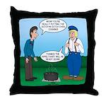 Dutch Oven Cooking Throw Pillow