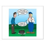 Dutch Oven Cooking Small Poster
