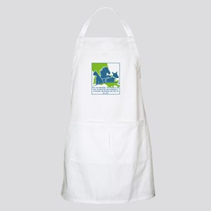 Pets are humanizing. They remind us we have Apron