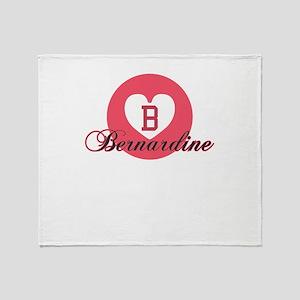 bernardine Throw Blanket