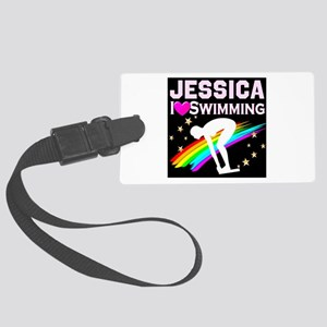 GREAT SWIMMER Large Luggage Tag
