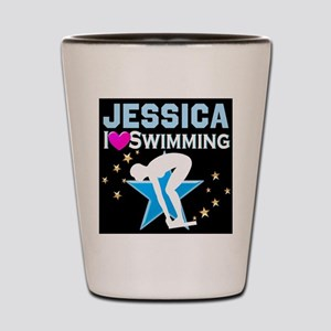 GREAT SWIMMER Shot Glass