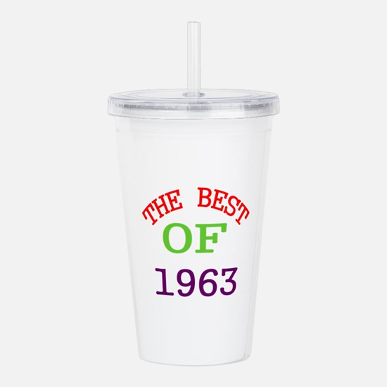 The Best Of 1963 Acrylic Double-wall Tumbler