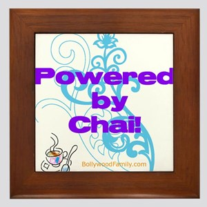 Powered by Chai! Framed Tile