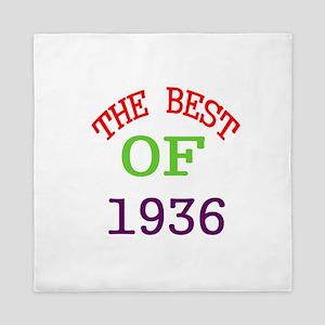 The Best Of 1936 Queen Duvet