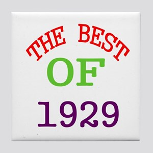 The Best Of 1929 Tile Coaster